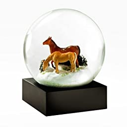 Horses Snow Globe by CoolSnowGlobes