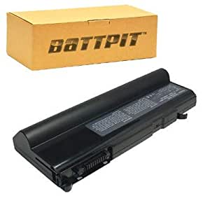 Battpit Bateria de repuesto para portátiles Toshiba Tecra S4-133 (8800 mah)