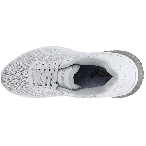 Asics Zapatos De Gel Kenun Correr Para Mujer Blanco / Blanco / Gris Glaciar En venta Finishline TlkPqUw