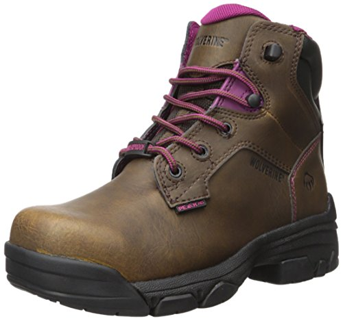 Wolverine Women's Merlin 6 Inch Waterproof Comp Toe Work Boot