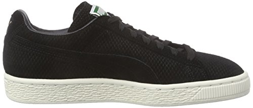 Adulte Baskets Puma Mixte Schwarz Noir Heritage black Classic Mod Basses White whisper 02 Suede qqwF0Rf