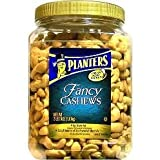 Planters Fancy Whole Cashews with Sea Salt, 38 oz (Pack of 2) by Planters