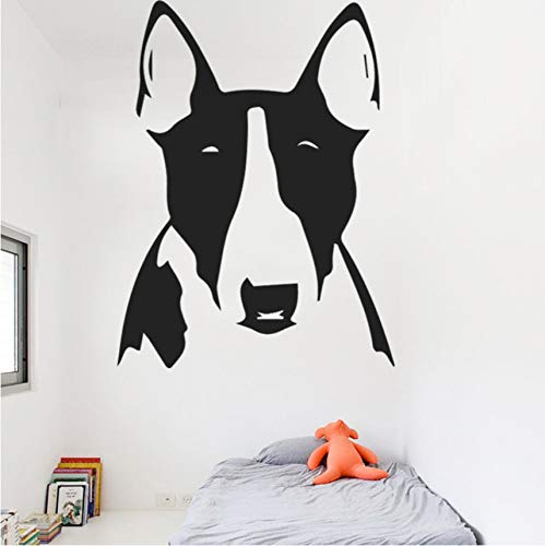 hwhz 43 X 62 cm Beauty Contest Dog Wall Stickers for Kids Livingroom Bedrooms Decoration Words Art Vinyl Decal Removable Wall Paper Home Decor -