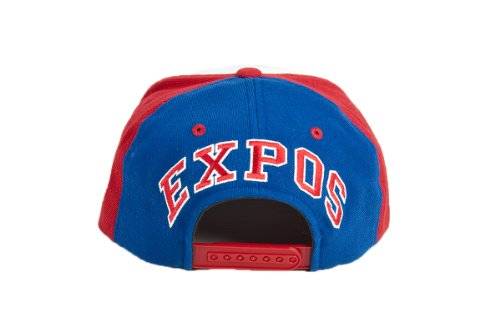 MLB Men s Montreal Expos Blockhead Snapback Cap (Multi a77309573b7