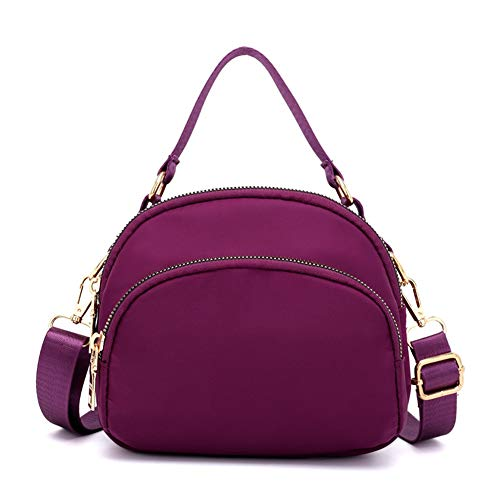 Purse Water Bag Anti Purple Women Crossbody Handbags Tote Multi Messenger splash Bags Shoulder Badiya Pocket wqOZUFAWxn