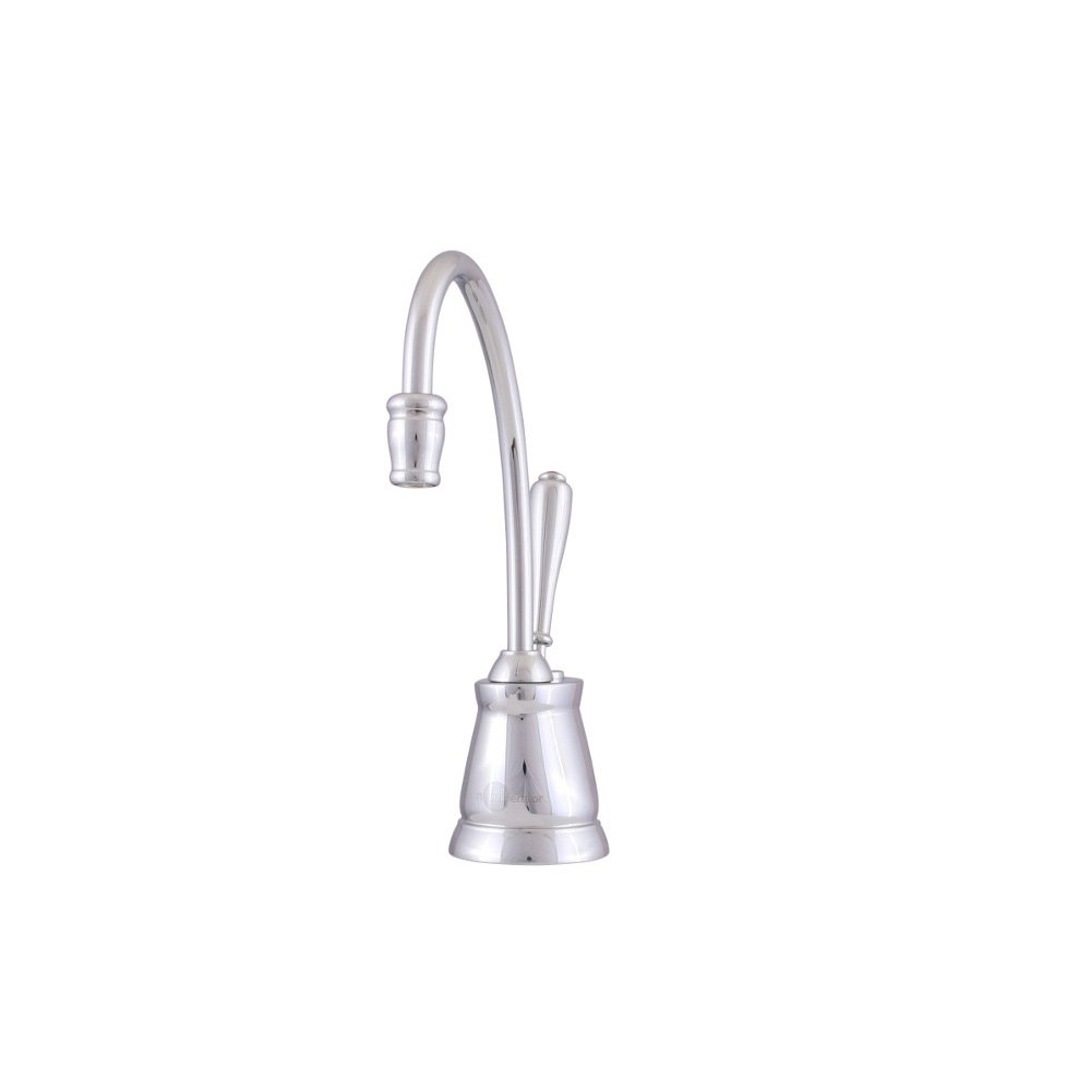 InSinkErator F-GN2215SN Indulge Tuscan Hot Water Dispenser Faucet, Satin Nickel