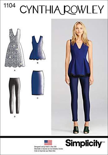 Simplicity 1104 Women's Dress