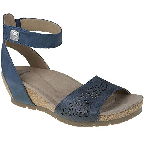 Earth Origins Kendra Krystal Women's Moroccan Blue 8 Medium US
