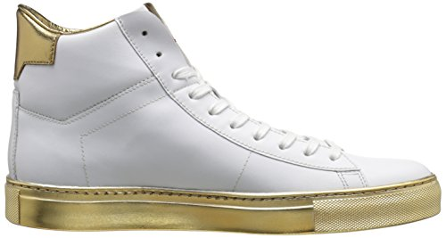 Hugo De Hugo Boss Hombres Aristoc Fashion Sneaker Blanco