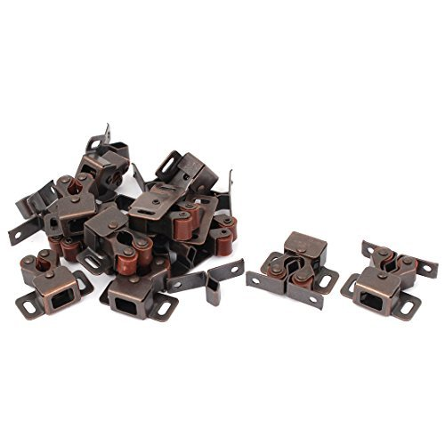 eDealMax Furniture Rouleau Catch 12pcs de Portes d'armoires Cabinet Latch