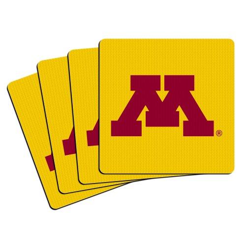 NCAA Minnesota Golden Gophers Neoprene Coasters, 4-Pack - Minnesota Golden Gophers Coaster