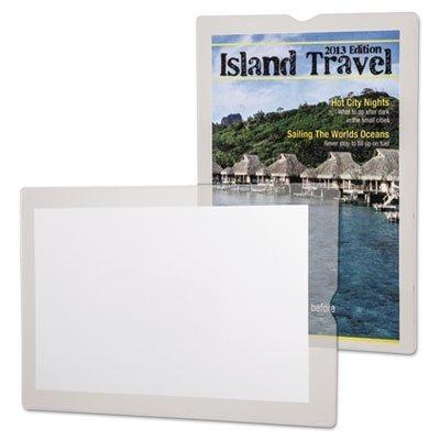 Esselte Utili Jac Vinyl - 3 PACKS: Oxford 65009 Utili-jacs clear vinyl envelopes, top load, 6x9 insert sz