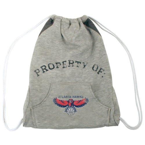 Littlearth NBA Atlanta Hawks Hoodie Cinch (Atlanta Hawks Bag)