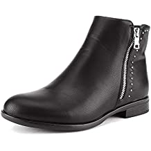 DREAM PAIRS Womens Fashion Winter Ankle Boots