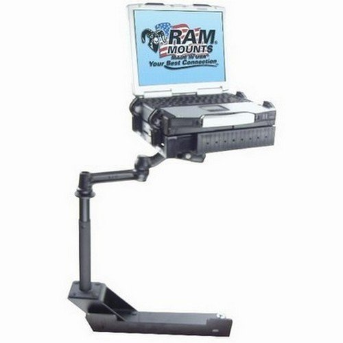 RAM Mounts (RAM-VB-104) No-Drill Laptop Base for The Dodge 1500, 2500 and 3500