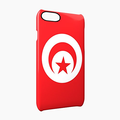 Flag of Tunisia Glossy Hard Snap-On Protective iPhone 7 Case Cover