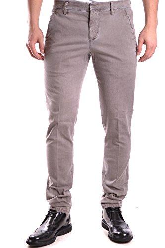 Dondup Homme MCBI100019O Gris Coton Pantalon