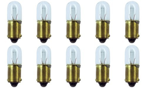 (CEC Industries #1820 Bulbs, 28 V, 2.8 W, BA9s Base, T-3.25 shape (Box of)