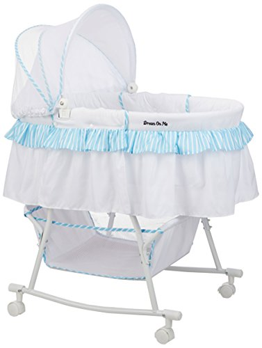 Dream on Me Lacy Portable 2-in-1 - Baby Boy Bassinet