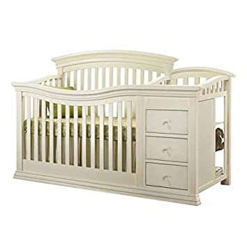 Sorelle Verona Crib And Changer   French White