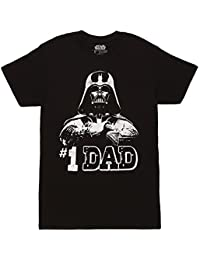 #1 Dad Darth Vader Father's Day T-Shirt