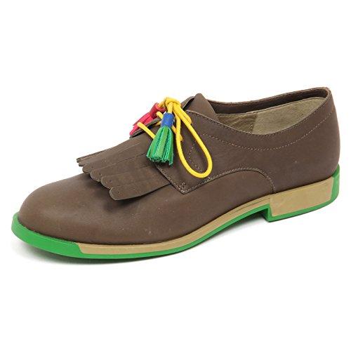 Shoe Militare CAMPER Verde E6124 Scarpe Twins Green Box Donna Without Woman Scarpa Frange wT7xzwqA