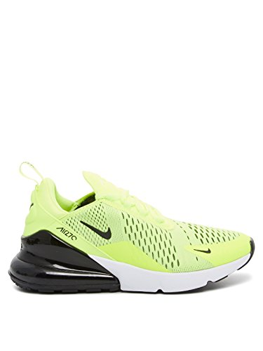 Nike Air Max 270, Scarpe da Ginnastica Uomo, Giallo (Volt/Black/Dark Grey/White), 44