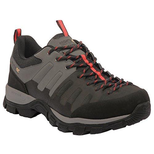 Regatta hombres del limite Low–Zapatos de Senderismo GRIS