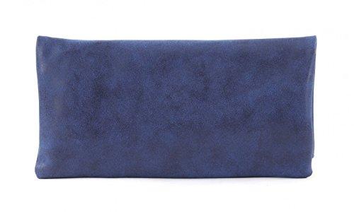 Fritzi aus Preußen Damen Ronja Clas Clutch, 2x30x30 cm Blau