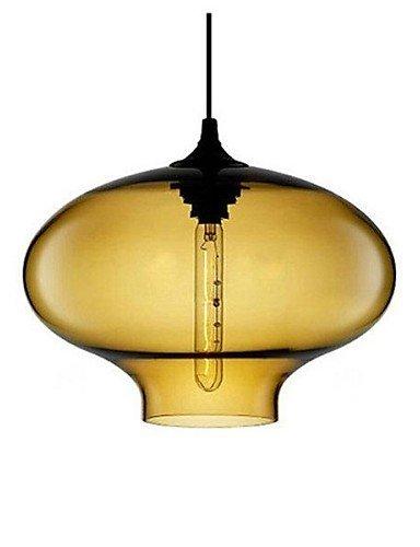 Modern LED Ceiling lampBubble Design Pendant, 1 Light, Minimalist Iron Painting , - Pendant Amber Iron