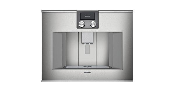Gaggenau máquina de Caffe cm 470 111 Acabado Acero de 60 cm ...