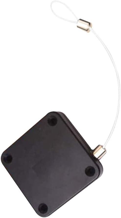 Busirde Más Cerca de la Puerta automática del Sensor Frente Puerta corredera Puerta telescópica retráctil Más Cerca, Blanca