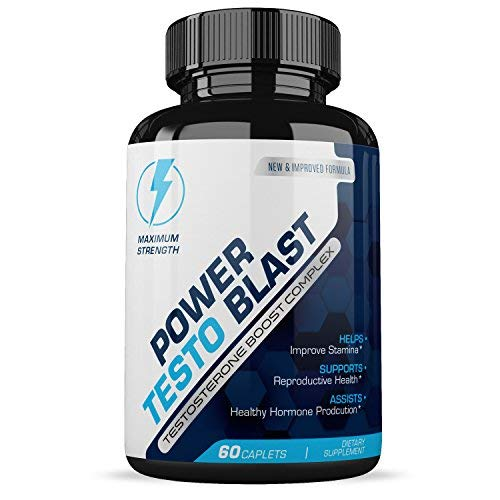Power Testo Blast- Testosterone Boost Complex- Reproductive Health- Assists Heathy Hormone Production Review