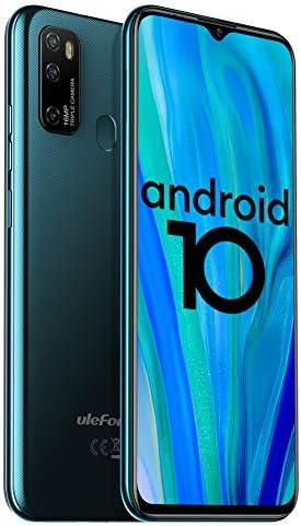 "Unlocked Smartphones Ulefone Note 9P (2020) Android 10 Unlocked Cell telephones, Triple Rear Camera Triple Card Slots, 6.52"" Waterdrop Full-Screen Dual SIM Phones, 4500mAh Global Bands, US Version - Green"