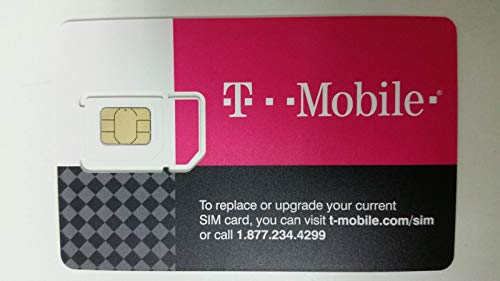 T-Mobile Prepaid SIM Card Unlimited Talk, Text, and Data for 30 days (For use in United States) (Best Prepaid Phone Plans Usa)
