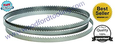 "Replacement for Magnate M56.125C12R10 Carbon Tool Steel Bandsaw Blade, 56-1/8"" Long - 1/2"" Width; 10TPI"