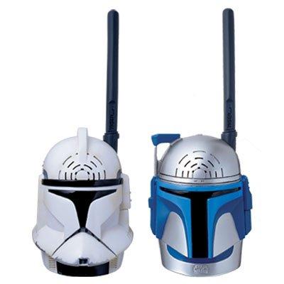 Star Wars Attack of the Clones Walkie Talkies Clone Trooper & Jango Fett by Tiger Electronics (Image #3)