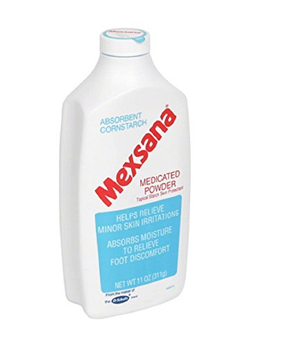 Mexsana Medicated Powder-11 oz. (3 Pack) by Mexsana