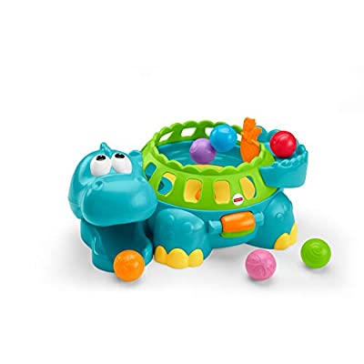 Fisher-Price Go Baby Go Poppity-Pop Musical Dino [ Exclusive]: Toys & Games