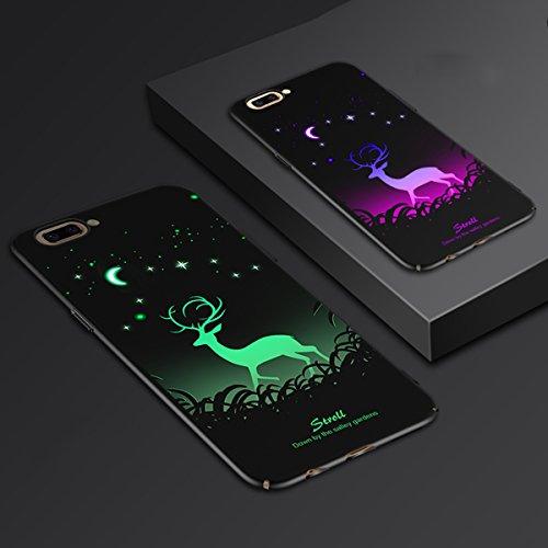 Bangcool Estuche para IPhone 7 Plus Protector Creativo del Teléfono Brillan en la Oscuridad Cubierta de Teléfono para IPhone 7 Plus IPhone 8 Plus Type 6