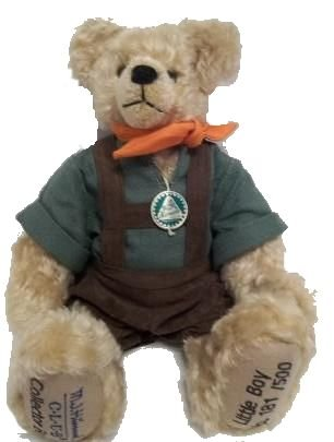 Hermann Limited Edition, M. J. Hummel Collector Teddy Bear