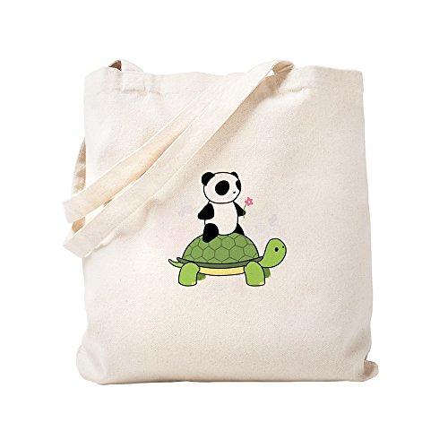 Cafepress Y Panda Mano Small Caqui Diseño Con Lona De Bolsa Tortuga Yq1wrY