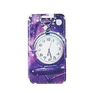 WQQ reloj de bolsillo kinston en el régimen de lluvias de la PU cuero caso de cuerpo completo con soporte para el iphone 5 / 5s