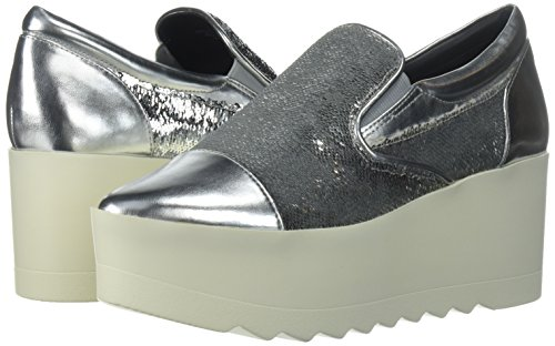 KENDALL + KYLIE Women's Tanya Sneaker, Silver, 8 Medium US by KENDALL + KYLIE (Image #6)