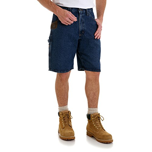 RIGGS WORKWEAR by Wrangler Men's Big & Tall Workhorse Short, Antique Indigo, 50 (Wrangler Riggs Shorts)