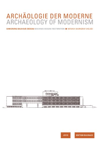 Bauhaus Band (Archaeology of Modernism: Bauhaus Dessau: Edition Bauhaus Vol. 23 Renovation (Bauhaus Band))