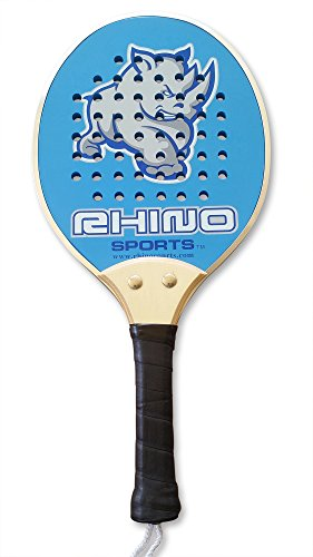 Paddleball Racket: Rhino Sports Professional Paddleball Racket, Fun for Kids and Adults, Compatible with Pickleball, Platform Tennis, and