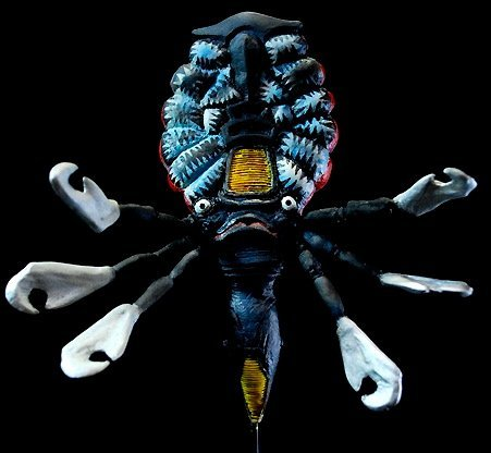 Monster lawless monster gallery No.82 space hunter cool Alien unassembled unpainted kit