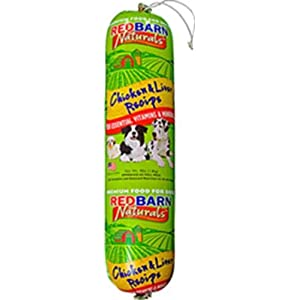 Redbarn Pet Products Chicken and Liver Food Roll 4 lb. roll 10