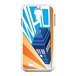 Custom High Quality WUCHAOGUI Phone case Doctor Who - Police Box Pattern Protective Case For SamSung Galaxy S4 Case - Case-10